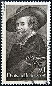 GERMANY - CIRCA 1977: stamp printed in Germany shows Peter Paul Rubens circa 1977