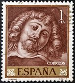 SPAIN - CIRCA 1962: A stamp printed in Spain shows Rubens circa 1962