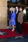 LOS ANGELES - JAN 3:  Taylor Hackford, Helen Mirren, Jon Turteltaub, David Mamet at the Hollywood Wa