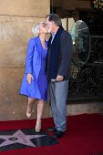 LOS ANGELES - JAN 3:  Taylor Hackford, Helen Mirren at the Hollywood Walk of Fame Star Ceremony for