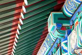 Chinese Roof Decoration Abstract