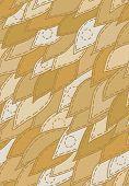 floral sewed leaf seamless vector pattern wallpaper background