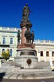 Catherine the Great Statue, Odessa, Ukraine
