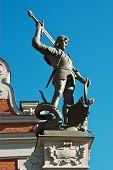 Statue Of Roland, Riga