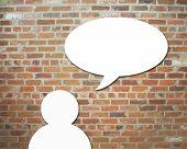Dialog speech bubbles