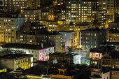 SAN FRANCISCO, CALIFORNIA - JAN 13:  View of San Francisco's Chinatown tourist district.  San Franci