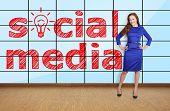 Social Media On Plasma