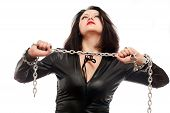 Girl And A Steel Chain
