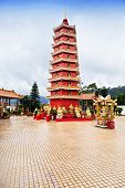 stock photo of tin man  - Ten Thousand Buddhas Monastery  - JPG