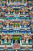 foto of meenakshi  - detail of meenakshi temple in madurai india - JPG