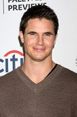 LOS ANGELES - SEP 7:  Robbie Amell at the PaleyFest Previews:  Fall TV CW -