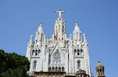 Temple Del Sagrat Cor In Barcelona, Spain