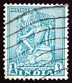 Postage Stamp India 1950 Bodhisattva, Enlightenment Being