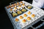 Tray With Appetizers