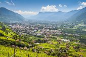 View To Merano South Tirol