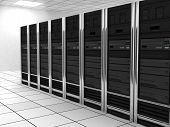 stock photo of intranet  - presentation server - JPG