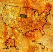 Nebraska On Map Of Usa