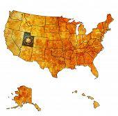 Utah On Map Of Usa