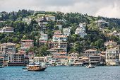 The Bosphorus, Also Known As The Istanbul Strait, Is A Strait That Forms Part Of The Boundary Betwee