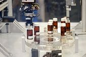 picture of pharmaceuticals  - Drug manufacturing production process in pharmaceutical factory - JPG