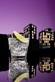 Metropolis Gin Tonic Cocktail