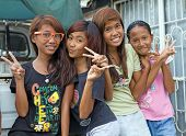 Philippines - Beautiful Preteen Girls