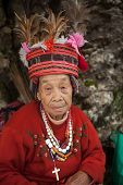 Hundred Year Old Filipino Woman