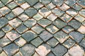 Roof Of Baked Clay Roof-tile