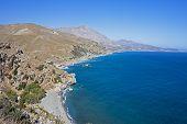 Preveli Bay, Crete