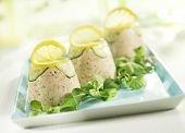 Three Towers Of Salmon Mousse