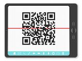 Tablet With Qr Bar code