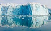 Reflecting Blue Glacier