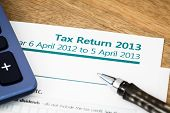 Tax Return Uk 2013
