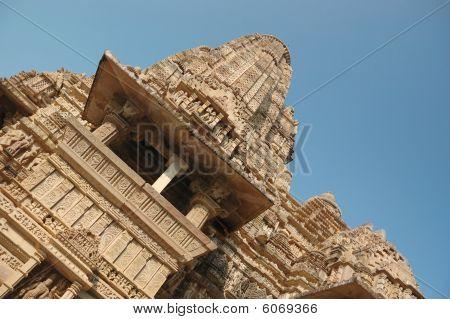Постер, плакат: Известные храмы в Индии с Камасутры люблю сцены, холст на подрамнике