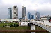 New Modern Skyscrapers In Vilnius
