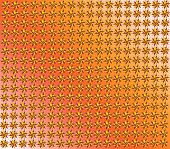 texture from yellow acute-angled figures