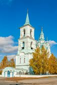 Church of the Transfiguration.N.Sinyachikha.Russia
