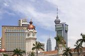 foto of kuala lumpur skyline  - Kuala Lumpur Malaysia City Skyline from Merdeka Square - JPG