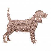 Vector Image Of An Dog Labrador Design