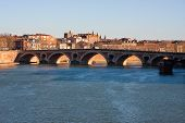 The Garonne in Toulouse