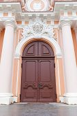 Portal Of St. Casimir Church (circa 1749). Vilnius, Lithuania