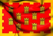 stock photo of greater  - Flag of Greater Manchester England - JPG