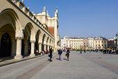 Sukiennice, Cloth Hall Side View, In Krakow