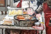 Street Food In Shenyang China