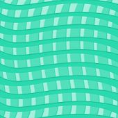 Teal Blue Weaves Pattern on Light Teal Blue