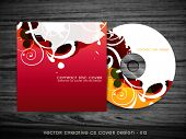 beautiful colorful cd cover design art