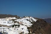 Santorini Islands In The Cyclades