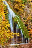 Waterfall Jur-jur, Crimea, Ukraine