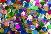 Small Color Confetti Background