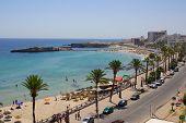 Sea Coast In Monastir, Tunisia In Africa